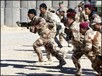 Military training in Basra