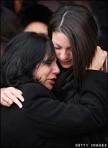 Meredith Kercher's funeral