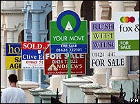 """For sale"" signs"