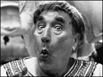 Frankie Howerd in Up Pompeii!