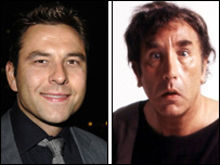 David Walliams and Frankie Howerd