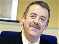 Mike Cassidy of the Welsh Ambulance Trust