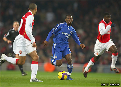 Wright-Phillips attacks for Chelsea