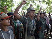 Maoist rebels in Chhattisgarh, File picture