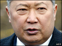Kyrgyz President Kurmanbek Bakiyev