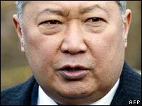 Kyrgyz President Kurmanbek Bakiyev