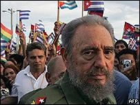 Fidel Castro, mandatario cubano