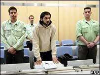 Youssef Mohammed al-Hajdib in court