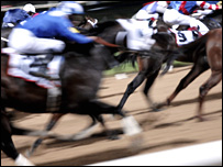 Horse racing in Dubai. Image: Johnny Greig/Science Photo Library
