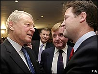 Lord Ashdown, Charles Kennedy and Nick Clegg
