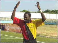 Uganda's Ceasar Okuti