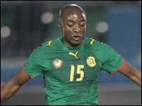 Cameroon's Pierre Achille Webo