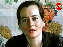 Clara Rojas appeared in a video released by the Farc in 2003