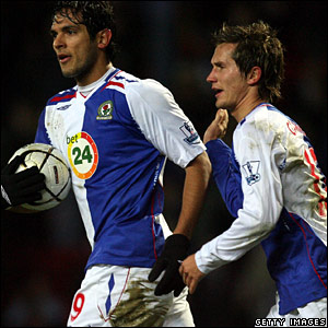 Roque Santa Cruz and Morten Gamst Pedersen