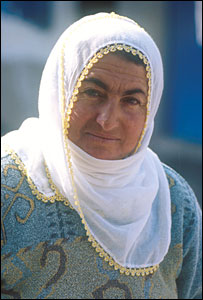A Turkish woman. File photo