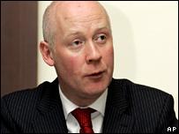 Fisheries Minister Jonathan Shaw