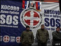 Kosovo Serbs' protest