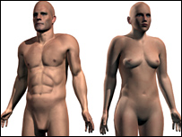 Interactive body map