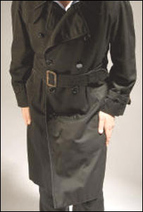 Get Carter trenchcoat (pic courtesy Christie's)