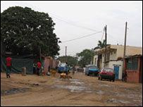 The Sambizanga area of Angola's capital, Luanda