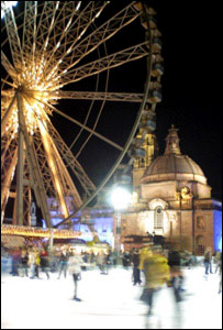 Cardiff's Winter Wonderland (Pic by Carl Morgan)