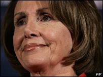 Nancy Pelosi, 19 December 2007