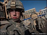 US soldier in Iraq, 24 November 2007