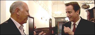 David Cameron and Michael Cockerell