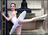 Ballerina Simone Clarke
