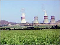 The nuclear facility at Metsamor, outside Yerevan