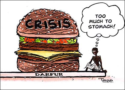 Darfur cartoon by Tayo