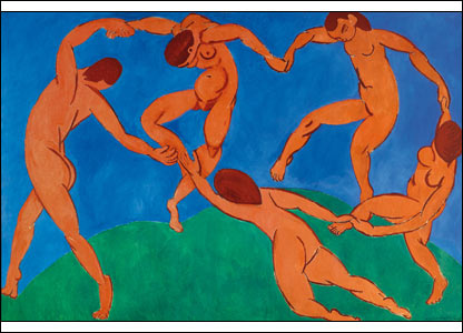 Henri Matisse - The Dance, 1910, courtesy of the State Hermitage Museum, St Petersburg