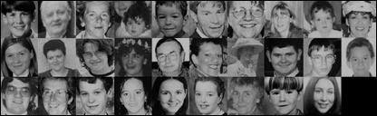 The 29 people who died in the Omagh bombing