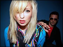 Katie White (left) and Jules De Martino of The Ting Tings