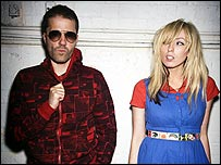 Katie White (right) and Jules De Martino of The Ting Tings