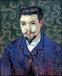 Vincent Van Gogh's Portrait of Dr Rey (1899) - photo courtesy of Royal Academy