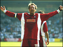 Former Arsenal striker Paul Merson
