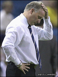Luton manager Kevin Blackwell