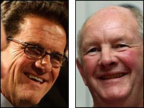 Fabio Capello and Brian Ashton