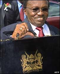 Environment Minister David Mwiraria