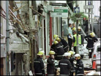The Omagh bomb scene