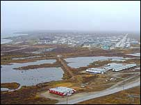 Aerial view of Churchill