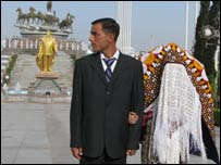 A Turkmen couple