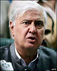 Aftab Sherpao (file pic)