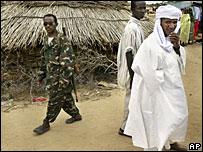 Soldier in Darfur