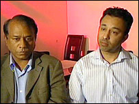 Former company directors Fazal Mahmood (left) and Ghulam Rumi (right)