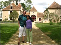 Michael Gordon and wife Phyu Phyu