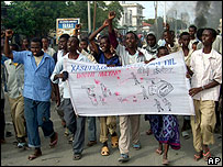 Anti-Ethiopian demonstration