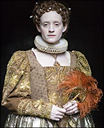 Anne-Marie Duff in the BBC's The Virgin Queen