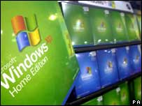 Windows XP on sale, PA